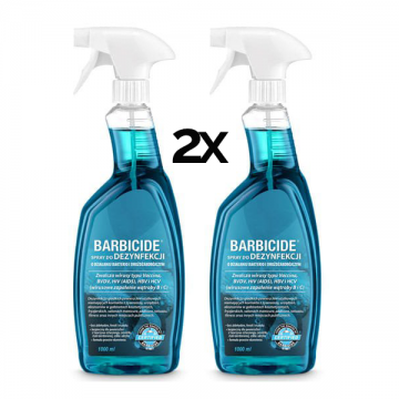2 x BARBICIDE Spray do...