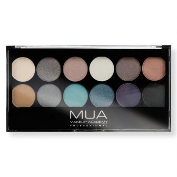 MUA -  Eyeshadow Paleta 12...