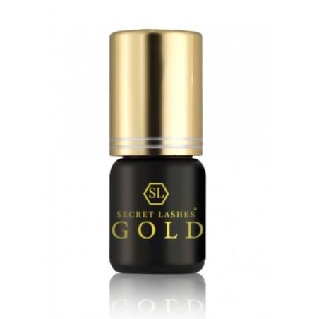 Secret lashes - Klej do rzęs Gold 3g 0,5 - 1 sec