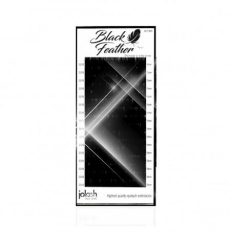 Jolash - Rzęsy Black Feather Volume MINK