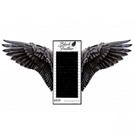 Jolash - Rzęsy Black Feather Volume 0,07 C Mix